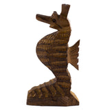 Seahorse Hand Carved Ironwood Wood Figurine
