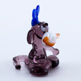 Miniature Lampwork Hand Blown Glass Monkey Figurine 2