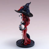 Abracadabra Cosplay Kids Little Witch Figurine 4