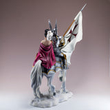 Armored Knight With Princess On Horse Figurine 6