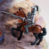 Dragon With Knight On Horse Figurine 6