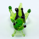 Miniature Lampwork Hand Blown Glass Grasshopper Cricket Figurine 3
