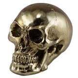Little Skull Gold Chrome Finish Figurine 1