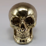 Little Skull Gold Chrome Finish Figurine 2