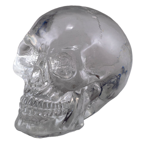 Little Skull Clear Translucent Figurine 1