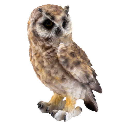 Brown Horned Owl Figurine 1