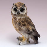 Brown Horned Owl Figurine 2