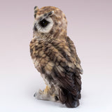 Brown Horned Owl Figurine 3
