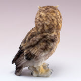 Brown Horned Owl Figurine 4