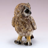 Brown Horned Owl Figurine 5