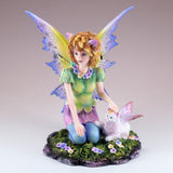 Cat Fairy With White Fairy Cat Figurine 2