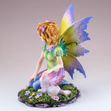 Cat Fairy With White Fairy Cat Figurine 3