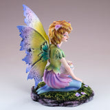 Cat Fairy With White Fairy Cat Figurine 5