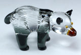 Lampwork Hand Blown Glass Bear1