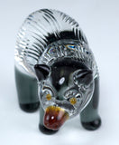 Lampwork Hand Blown Glass Bear 2