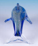 Dolphin Hand Blown Glass Figurine