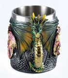 Green Dragon Mug 14 Oz. Stainless Steel Interior 3