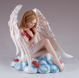 Love Angel Fairy With Heart Figurine 2