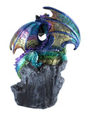 Multicolor dragon figurine LED light up crystals 4