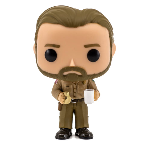 Stranger Things Chase Hopper With Donut Funko Pop! #512 HBH1