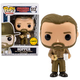Stranger Things Chase Hopper With Donut Funko Pop! #512 HBH3