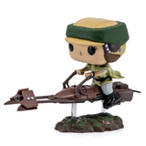 Star Wars Princess Leia With Speeder Bike Funko Pop 228 HBH1