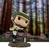 Star Wars Princess Leia With Speeder Bike Funko Pop 228 HBH3
