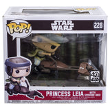Star Wars Princess Leia With Speeder Bike Funko Pop 228 HBH5