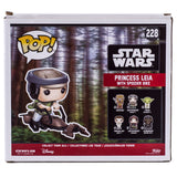 Star Wars Princess Leia With Speeder Bike Funko Pop 228 HBH6