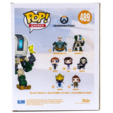 Overwatch Bastion 5.5 Funko Pop 489 HBH5