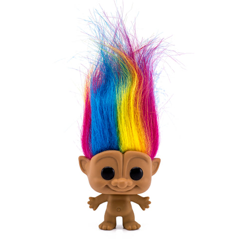 Good Luck Rainbow Hair Troll Funko Pop 01 HBH1