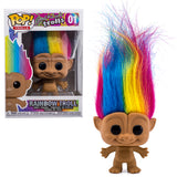 Good Luck Rainbow Hair Troll Funko Pop 01 HBH3