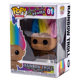 Good Luck Rainbow Hair Troll Funko Pop 01 HBH5