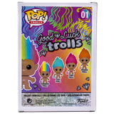 Good Luck Rainbow Hair Troll Funko Pop 01 HBH6