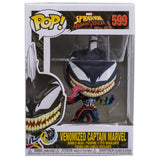 Spider-Man Venomized Captain Marvel Funko Pop 599 HBH4
