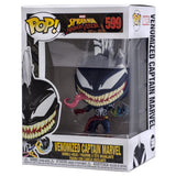 Spider-Man Venomized Captain Marvel Funko Pop 599 HBH5