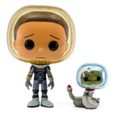 Space Suit Morty With Snake Funko Pop Rick Morty 690 HBH1