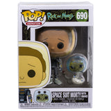 Space Suit Morty With Snake Funko Pop Rick Morty 690 HBH3