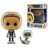 Space Suit Morty With Snake Funko Pop Rick Morty 690 HBH2