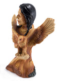 Native American Indian With Eagle 2