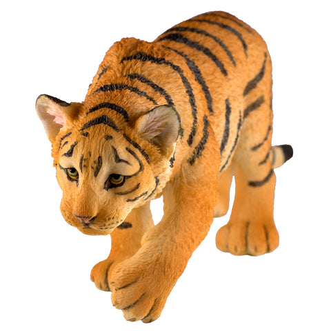 Tiger Cub Stalking Figurine 1