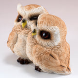 Owl Couple Figurine 2