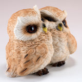 Owl Couple Figurine 3