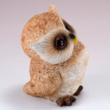 Pair of Owl Figurines Statues 2