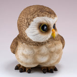 Pair of Owl Figurines Statues 7