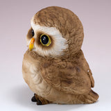Pair of Owl Figurines Statues 9