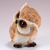Pair of Owl Figurines Statues 5