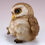 Pair of Owl Figurines Statues 11