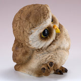 Pair of Owl Figurines Statues 12