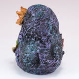 Blue Mermaid On Rock Figurine 4